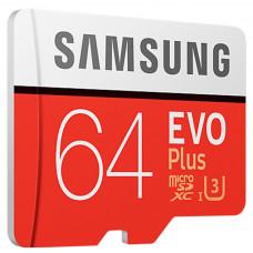 Память MicroSDHC Samsung EVO Plus 64GB