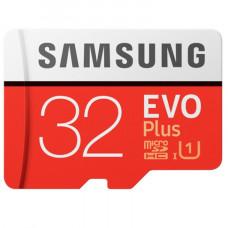 Память MicroSDHC Samsung EVO Plus 32GB