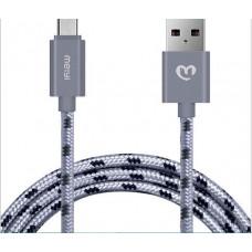 Кабель Meiyi USB-microUSB 1м